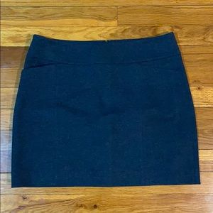 WHBM Dark Grey Skirt w/ Pockets Sz S